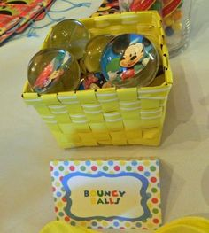 Mickey Mouse Clubhouse party balls