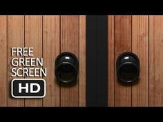 Free Green Screen   Classic Door Transition