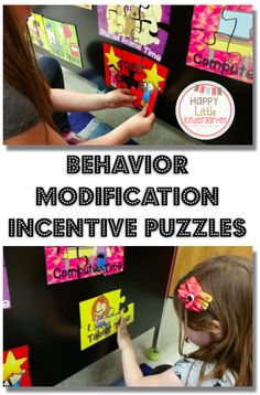 Behavior Modification Incentive Puzzles, Help students work towards a goal with these fun and colorful incentive puzzles! Classroom management