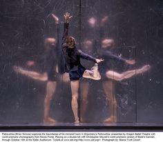 OBT's world premiere performance of Nicolo Fonte's Petroucka   by Oregon Ballet Theatre