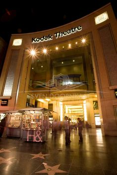 The former Kodak Theatre - Hollywood Boulevard.  It is now the Dolby Theatre.