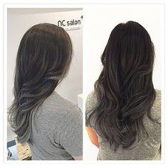 Balayage Ombre Grey Hair   Grey Hair Ombre