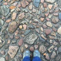 Cobblestone streets are my favorite except when I am on my bike! #fromwhereistand