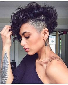 Short Undercut Hairstyles with Bangs