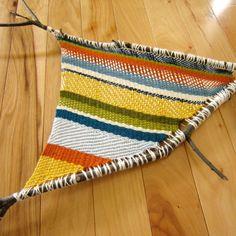 Twig Weaving #weaving #diyweaving #weavinginspiration