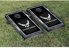 Tailgate Victory NCAA US Air Force Chrome Version Cornhole Game Set