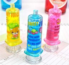 FRUITY INJECTED ERASERS