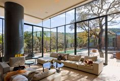Cascading Creek House / Bercy Chen Studio | ArchDaily