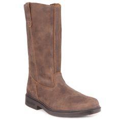 Blundstones - Tall Chisel Toe in Rustic Brown