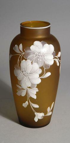 A Webb Cameo Glass Vase.