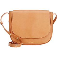 Mansur Gavriel Crossbody Bag (675 AUD) ❤ liked on Polyvore featuring bags, handbags, shoulder bags, accessories, nude, studded shoulder bag, nude handbags, cross body, crossbody handbags and crossbody shoulder bags