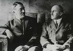 A rare photo of Adolf Hitler & Julius Streicher.