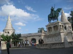 the fisherman's bastion, Budapest