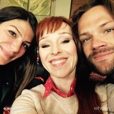 Am I going too far now with both #padaleckies in the same shot? #TooHot lovely @realGpad and @jarpad #Asylum14