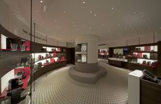 Nespresso flagship boutique by Favero & Milan, Munich