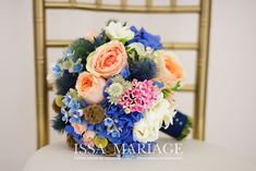 Blue Wedding, Wedding Bouquets, Floral Wreath, Wreaths, Decor, Bridal Bouquet Blue, Blue Nails, Boyfriends, Floral Crown
