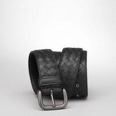 编织牛皮腰带 - 皮革材质 - 皮带 - Bottega Veneta® - ¥0