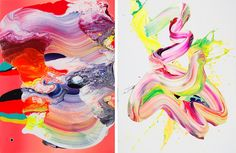 paintings by Yago Hortal