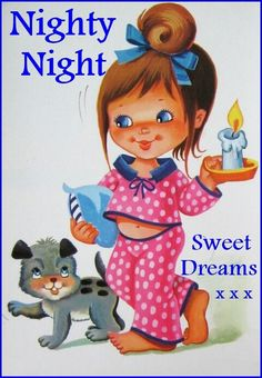 Good Night Friends  Sweet Dreams  God Bless Everyone