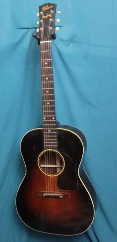 1944 Gibson LG-2 Banner Acoustic Guitar image 2