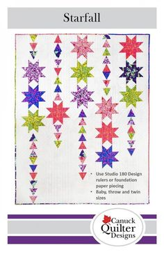 Showering Stars Quilt Pattern From Robin Pickens