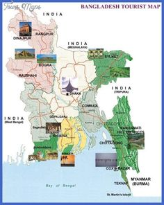 Map of europe showing population growth or decline rates source nice bangladesh map tourist attractions gumiabroncs Images