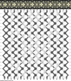 20 strings 20 rows 2 colors