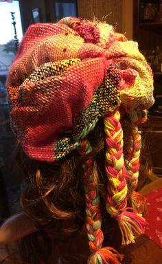#3 Braid Saori Woven Hat