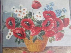 See Sally Sew-Patterns For Less - Basket of Poppies Jean McIntosh Ltd Petit Point Kit M - 152 Needlework  , $15.00 (http://stores.seesallysew.com/basket-of-poppies-jean-mcintosh-ltd-petit-point-kit-m-152-needlework/)