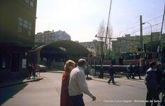 Estación del ferrocarril de Las Arenas, años 80 (Colección Joseba Geijo) (ref. JG261)
