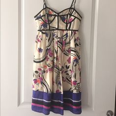 Hype Dress With Floral Design