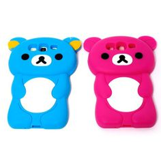 Cute 3D Stereoscopic Bear Back Case for Samsung Galaxy S3 SIII S III i9300   //. Download the 3D Image Converter For Android --> https://play.google.com/store/apps/details?id=com.JERASeng.Pic2Glyph  you can generate 3D photos, out of a single image!!!!!