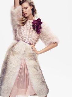 Magdalena Frackowiak by Nathaniel Goldberg for Vogue China September 2014