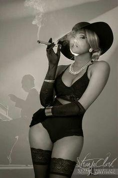 Lady cigar