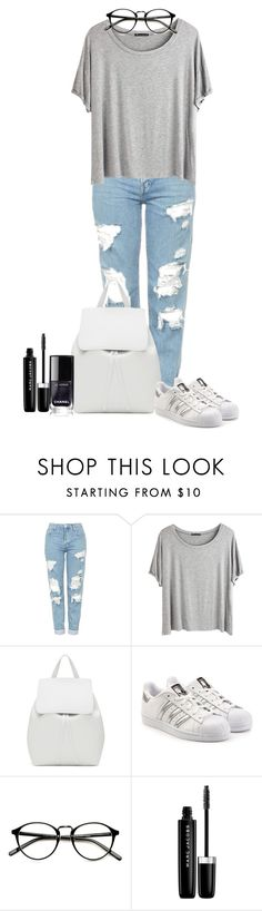 """""""#18"""" by madison-wells1i ❤ liked on Polyvore featuring Topshop, Chicnova Fashion, Mansur Gavriel, adidas Originals and Marc Jacobs"""