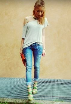 please collection  Jeans, Casadei  Heels / Wedges and Zarazara  Jewelry
