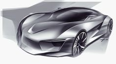 Audi Concept Design Sketch by Young Joon Suh - Car Body Design