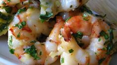 Super Ideas for seafood recipes simple garlic shrimp Shrimp Dishes, Fish Dishes, Shrimp Recipes, Fish Recipes, Great Recipes, Recipies, Recipe Ideas, Main Dishes, Uk Recipes