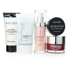 Skinn Cosmetics Five-Piece Ultimate Global Anti-Aging Skincare Set --> evine.com