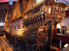 The most exquisite shipwreck ever to be found in the Baltic Sea was the Swedish royal warship, the Vasa. Description from psjfactoids.blogspot.no. I searched for this on bing.com/images