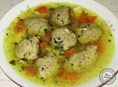 Babkine játrové knedlíčky-Grandma's liver dumplings in chicken soup Slovak Recipes, Austrian Recipes, Czech Recipes, Hungarian Recipes, Old Recipes, Great Recipes, Snack Recipes, Ethnic Recipes, Chicken Livers