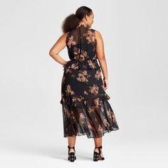 Výsledok vyhľadávania obrázkov pre dopyt plus size tiered midi dress