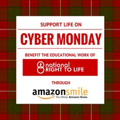 Did you know you can support the right-to-life cause while you do your online holiday shopping? #prolife