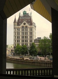 Witte Huis from a Cube, Rotterdam, Netherlands Copyright: Olga Perdiguero