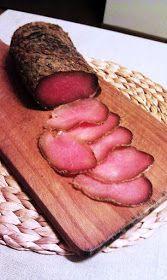 Smakowity kąsek: Schab à la szynka Parmeńska Cold Cuts, Chorizo Sausage, How To Make Sausage, Kielbasa, Polish Recipes, Smoking Meat, Charcuterie, Food Hacks, Food And Drink