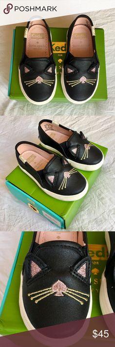 dfd2faf8b91d09 Keds X Kate Spade Girls Cat Double Decker Sneaker Keds X Kate Spade 1st  Walker/