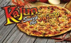 Johnny's Pizza House Kajun Sweep the Swamp Pizza