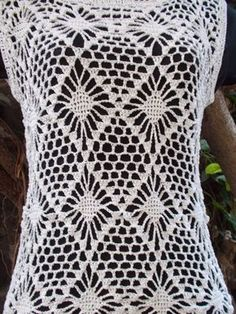 Sweet Nothings Crochet: DIAMOND VEST