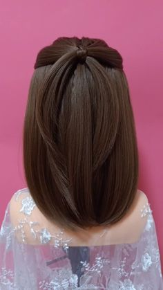 hair Videos peinados - Pisces Girls Must Learn 16 braid hairstyles Easy Hairstyles For Long Hair, Girl Hairstyles, Kawaii Hairstyles, Open Hairstyles, Kids Hairstyle, Bun Hairstyle, Hairstyles Videos, Wedding Hairstyle, Cute Short Hair Updos