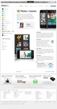 Apple - iPhone - Features - Photos + Camera (07.01.2009)